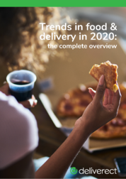 Trends in food & delivery in 2020: the complete overview
