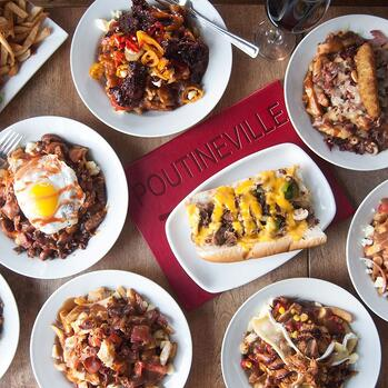 Poutineville's comfort food