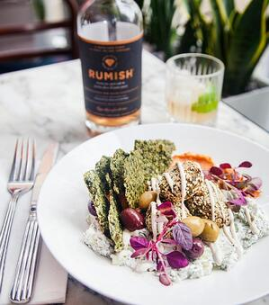 Plant-based food at Redemption London